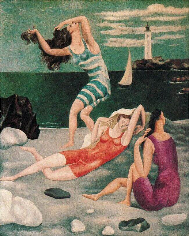 Bathers, 1918 by Pablo Picasso