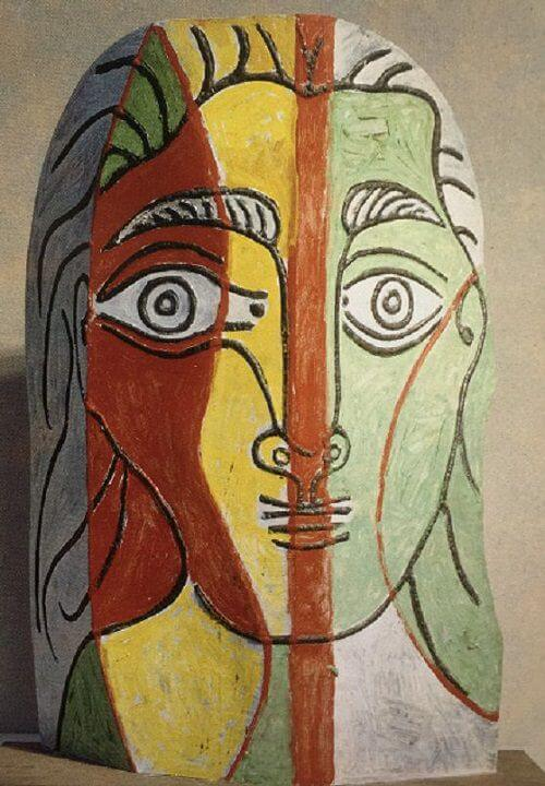 Head of a Woman, 1961 by Pablo Picasso