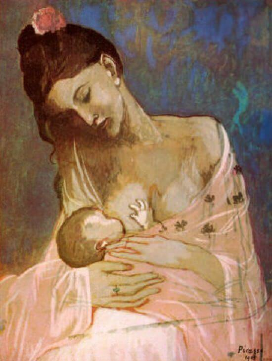 Maternity, 1909 by Pablo Picasso