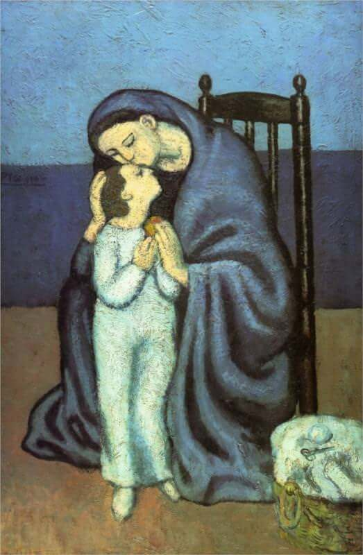 Mother and Child, 1901 by Pablo Picasso