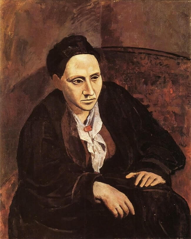 Portrait of Gertrude Stein, 1905 by Pablo Picasso