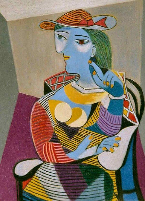 Seated Woman, 1937 by Pablo Picasso