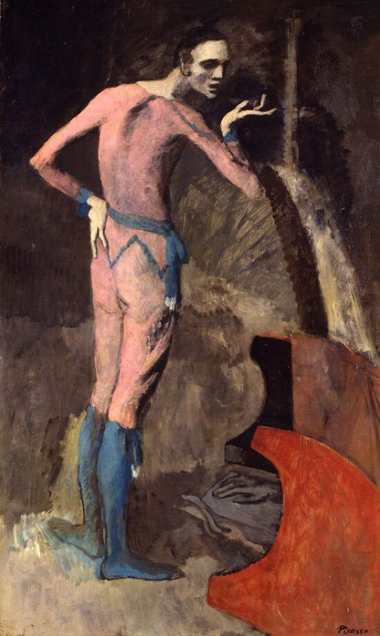 The Actor, 1904 by Pablo Picasso