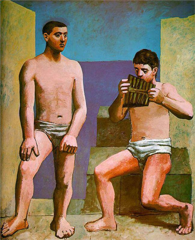 The Pan Pipes, 1923 by Pablo Picasso