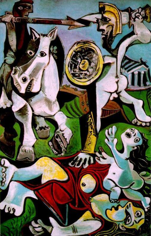The Rape of the Sabine Women, 1963 by Pablo Picasso