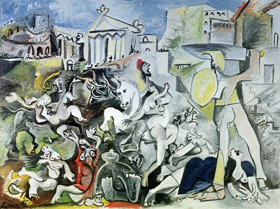 The Rape of the Sabine Women, 1962 by Pablo Picasso