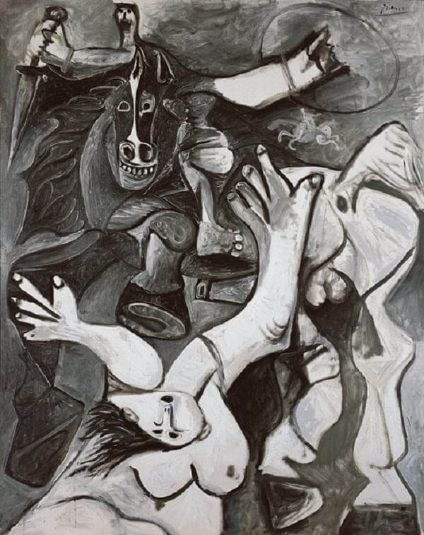 The Rape of the Sabines, 1962 by Pablo Picasso