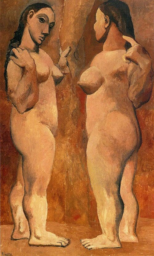 Two Nudes, 1906 by Pablo Picasso