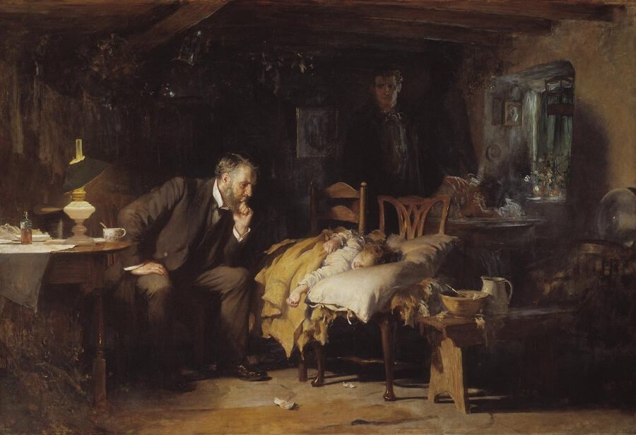 The Doctor, 1891 by Luke Fides